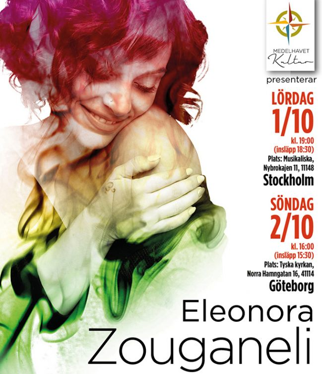 ELEONORA ZOUGANELI For the first time in Sweden